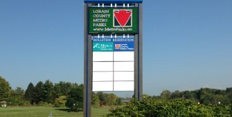 commercial outdoor business sign