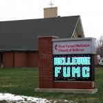 winter sign maintenance