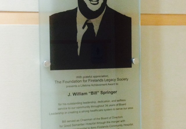 Bill Plaque