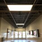 retrofitted LED lighting