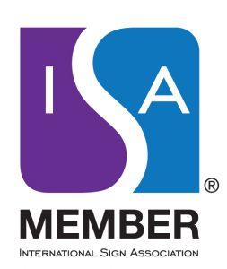 International Sign Association Member